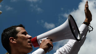 زعيم المعارضة الفنزويلي خوان غوايدو، 9 مارس/ آذار 2019.