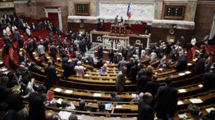Les députés lors du vote de la réforme territoriale.