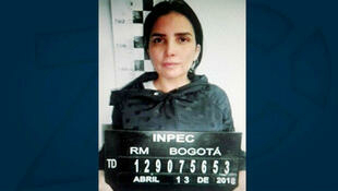 La Congresista Aida Merlano en una foto tomada por la máxima autoridad penitenciaria