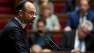 Edouard Philippe devant les députés à l'Assemblée nationale le 12 juin 2019