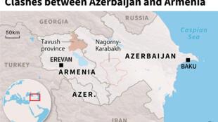 Clashes on Armenia-Azerbaijan border