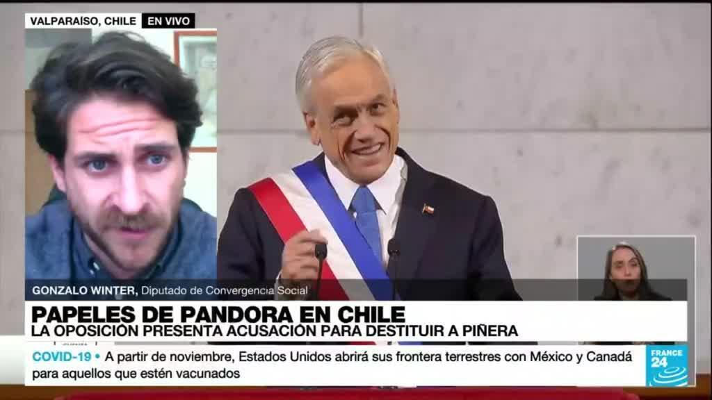 "2021-10-13 19:01 Gonzalo Winter: ""Cada tanto al presidente Piñera se le acusa de algún delito"""