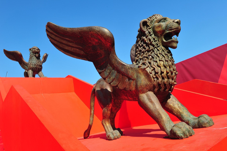 Les lions de la Mostra de Venise en août 2011
