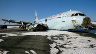 """صورة نشرتها مجلس سلامة النقل الكندي لطائرة """"إيرباص"""" تابعة للخطوط الجوية الكندية"""