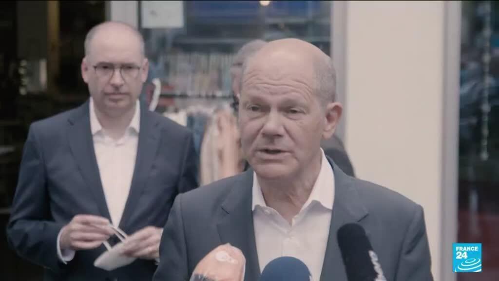 2021-09-20 13:14 Succession de Merkel: le social-démocrate Olaf Scholz favori