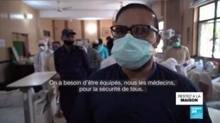 2020-04-16 17:08 Coronavirus au Pakistan : 7 000 cas confirmés, le personnel soignant menacé