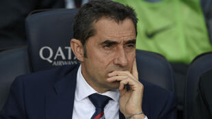 Ernesto Valverde a été nommé lundi entraîneur du FC Barcelone.