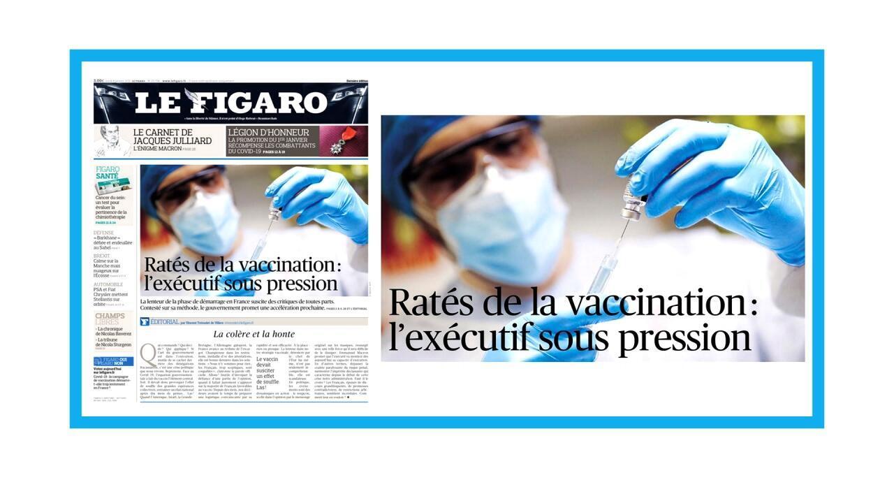 Lent démarrage de la campagne de vaccination anti-Covid-19 en France