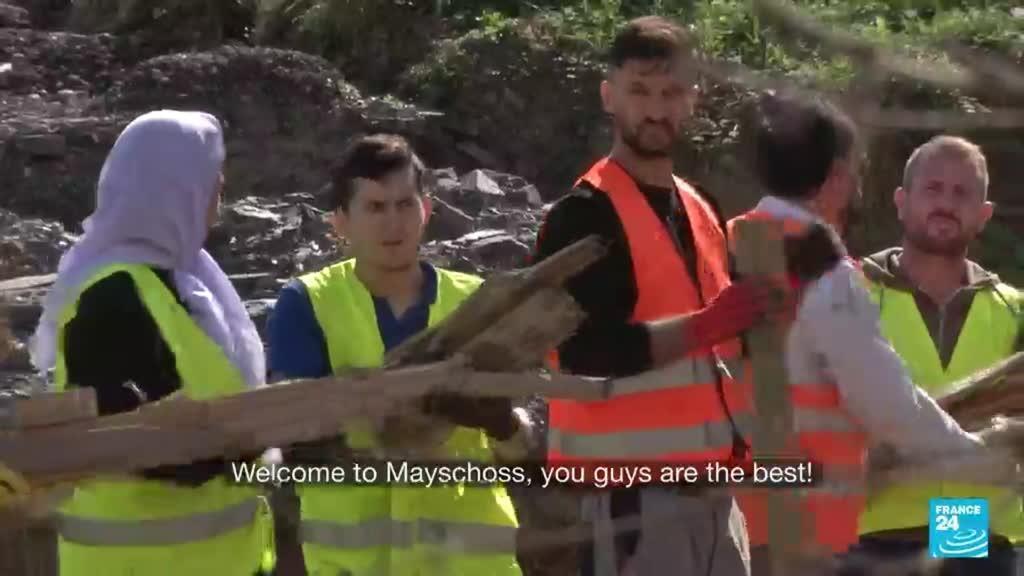 2021-09-15 08:15 Germany floods: Two months later, Yazidi refugees take part in rebuilding effort