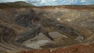 Une mine en RD Congo.