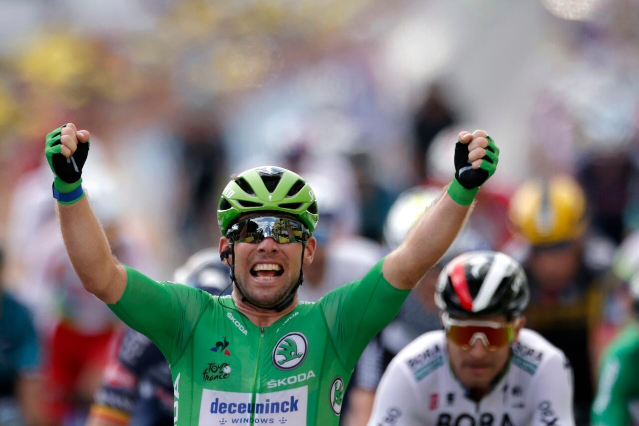 Tour de France Cavendish July 1