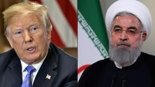 The US administration of President Donald Trump has been consistently hawkish on the Islamic Republic of Iran, led by President Hassan Rouhani (R)