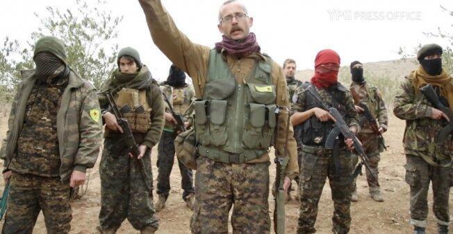 مقاتلون أجانب في صفوف الأكراد