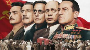 """""""La mort de Staline"""" au cinéma en France le 17 janvier 2018."""