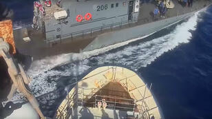 Les garde-côtes libyens frôlent le navire humanitaire Sea Watch en Méditerranée