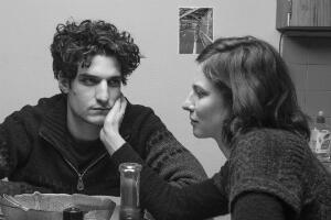 "Louis Garrel and Anna Mouglalis in ""La jalousie"" (""Jealousy"")."