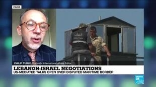 2020-10-14 13:11 Lebanon-Israel nagociations: US-mediated talks open over disputed sea border