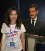 Berangere Haquen, 22, says youth unempoyment in France is 'not Sarkozy's fault'