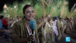 2020-02-25 16:12 Carnaval de Rio 2020 : Bolsonaro visé par le choix des thèmes engagés de la parade