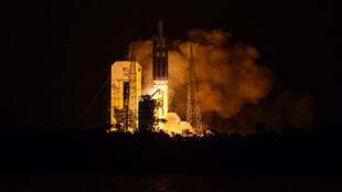 Lancement de la sonde Parker Solar Prob, dimanche 12 août, depuis Cap Canareval, en Floride.