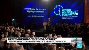 "2020-01-23 13:49 ""Auschwitz is the ultimate symbol of Jewish powerlessness,"" says Netanyahu"