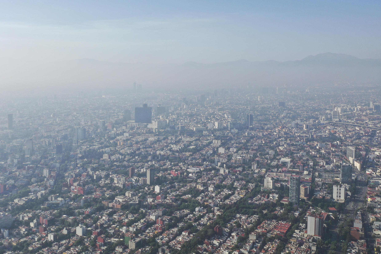 La capitale mexicaine plongée dans la pollution, avant la crise du Covid-19.