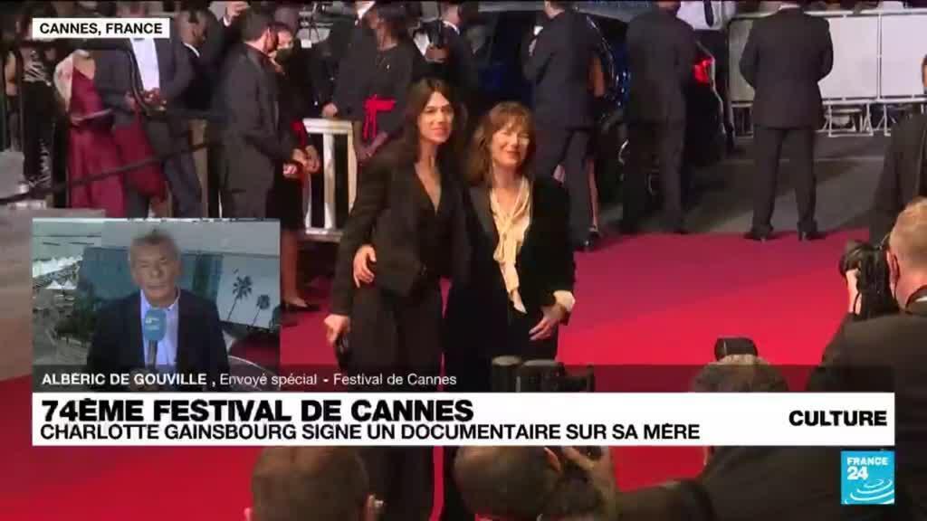 2021-07-08 14:48 Festival de Cannes : Charlotte Gainsbourg signe un documentaire sur sa mère
