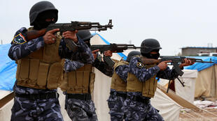 """- قوات عراقية في معارك ضد تنظيم """"الدولة الإسلامية"""" المتطرف"""
