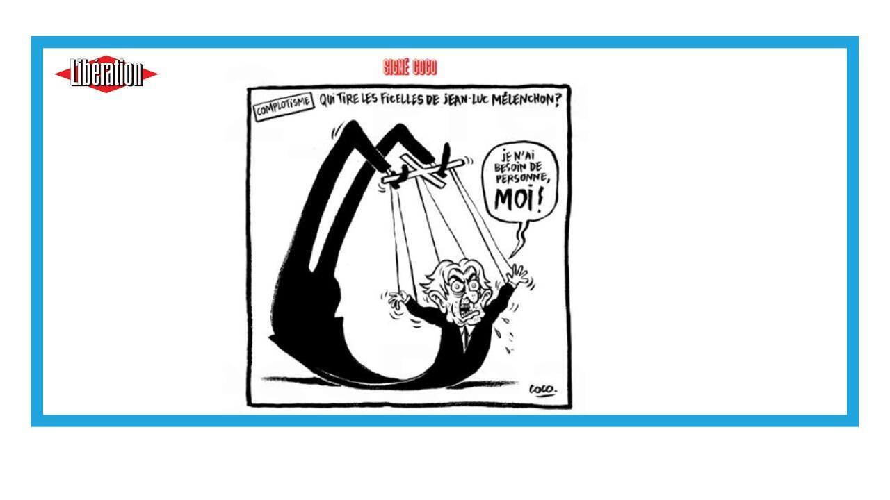 Le patron de La France Insoumise accusé de conspirationnisme
