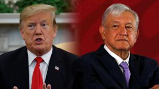 Los presidentes Donald Trump y Andrés Manuel López Obrador chocaron este 28 de marzo por los esfuerzos para evitar la inmigración ilegal.
