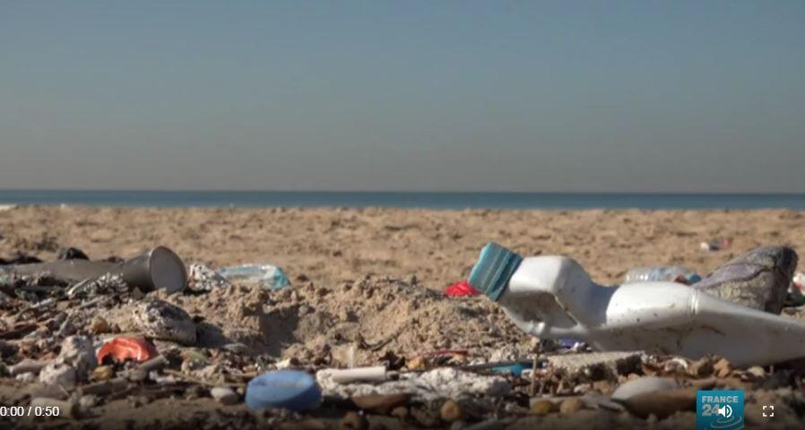 Lebanon's beaches are polluted and environmental problems are forcing activists to take to the streets