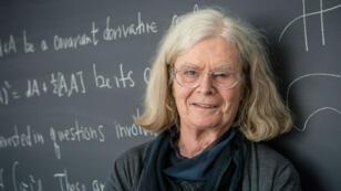 Karen Uhlenbeck el 18 de marzo de 2019 en Princeton, Nueva Jersey, un día antes del anuncio de su nombre como ganadora del Premio Abel de Matemáticas de Noruega.