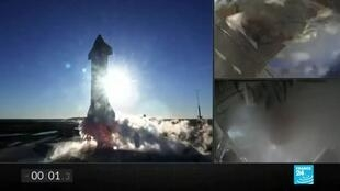 2020-12-10 08:15 SpaceX's Starship prototype explodes on landing after test launch
