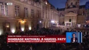 2020-10-21 19:10 Hommage national à Samuel Paty : le gouvernement passe à l'offensive contre l'islamisme radical