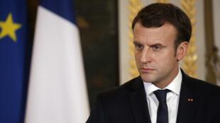 """""""Je souhaite aller beaucoup plus loin dans la lutte contre les trafiquants"""", a déclaré Emmanuel Macron mercredi 22 novembre 2017."""