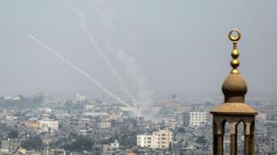 L'armée israélienne a mené des raids contre le Hamas dans la bande de Gaza, samedi 14 juillet 2018.