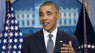 Le président américain Barack Obama, le 6 mai 2016 à Washington.