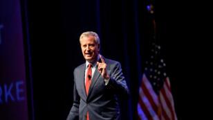 El alcalde de Nueva York, Bill de Blasio , ofrece un discurso en Filadelfia, Pensilvania, Estados Unidos, el 17 de septiembre de 2019.