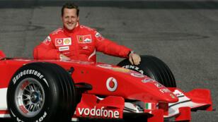 Le septuple champion du monde de Formule1 Michael Schumacher, le 24juin2006.