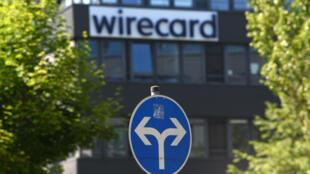La sede de Wirecard el 24 de junio de 2020 en Aschheim, cerca de Múnich (Alemania)