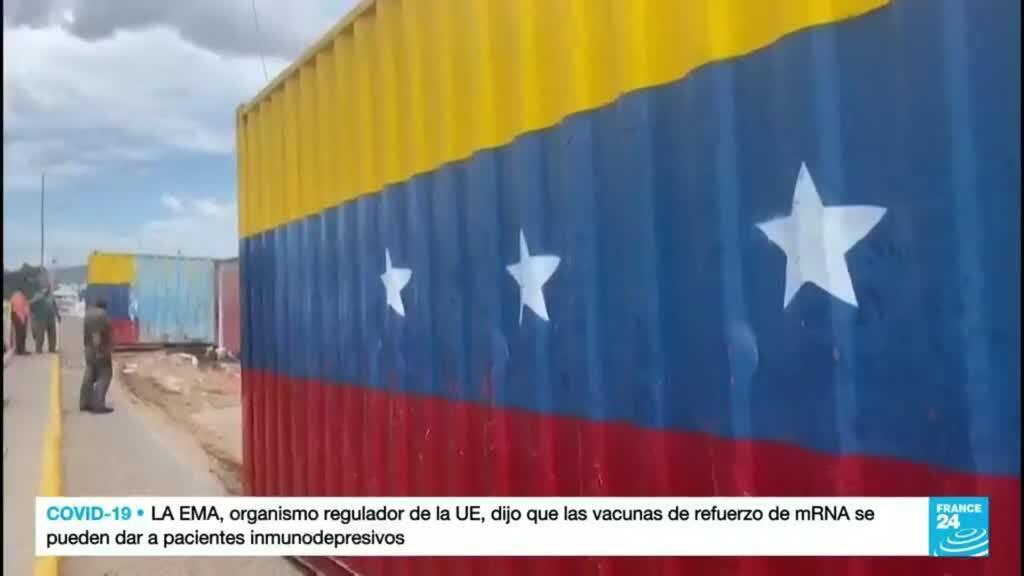 2021-10-05 01:07 Venezuela anunció reapertura del tránsito comercial con Colombia