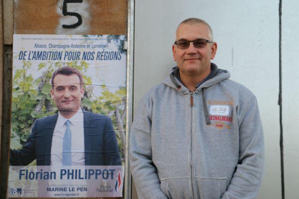 Pascal Demerson, le maire du village, sans étiquette politique, a voté Front national au premier tour des régionales 2015.