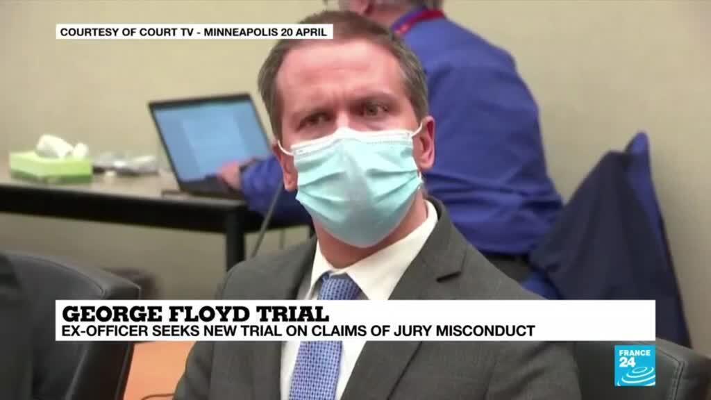 2021-05-05 09:03 Chauvin's lawyer seeks new trial on claims of jury misconduct