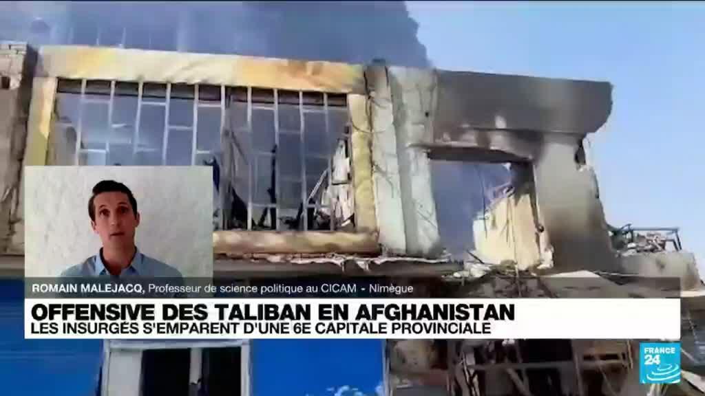 2021-08-09 20:02 Afghanistan : L'offensive des taliban évolue à une vitesse fulgurante