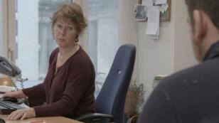 La juge d'instruction Anne Gruwez, dans son bureau à Bruxelles