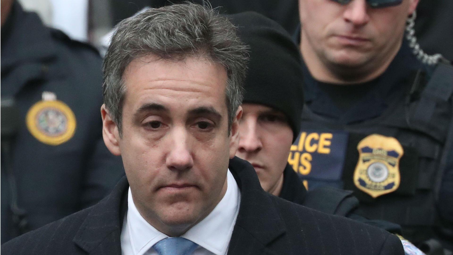 Michael Cohen, exabogado personal de Donald Trump, condenado a tres años de cárcel.