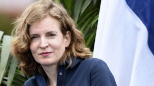 Nathalie Kosciusko-Morizet, lors de l'université d'été du parti qui se tenait samedi 3 septembre à La Baule.
