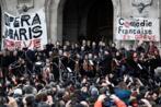L'Opéra de Paris donne un concert contre la réforme des retraites devant le Palais Garnier