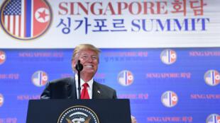 Donald Trump revendique haut et fort son approche iconoclaste de la diplomatie.