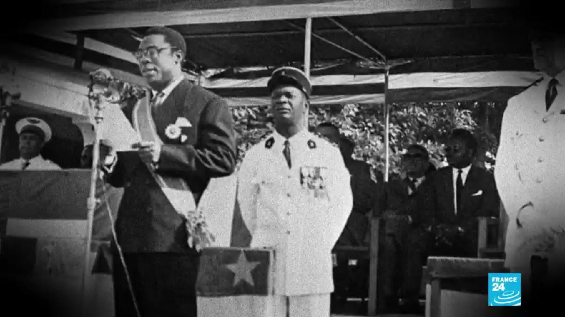 David Dacko, chef du gouvernement de la République centrafricaine